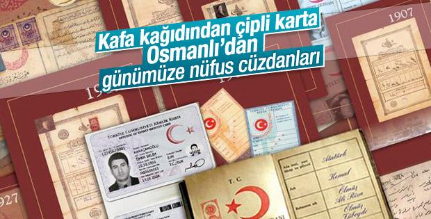 Osmanlı'dan günümüze Türkiye'nin kimlik kartları