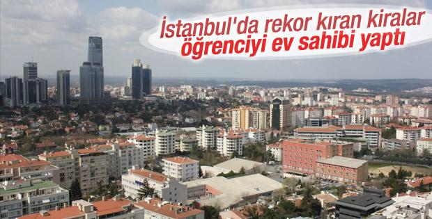 İstanbul'da rekor kıran kiralar öğrenciyi ev sahibi yaptı