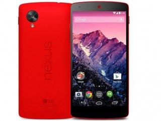 Kırmızı Nexus 5 satışa çıktı