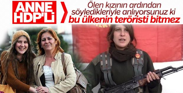 Kırmızı fularlı teröristin annesi konuştu