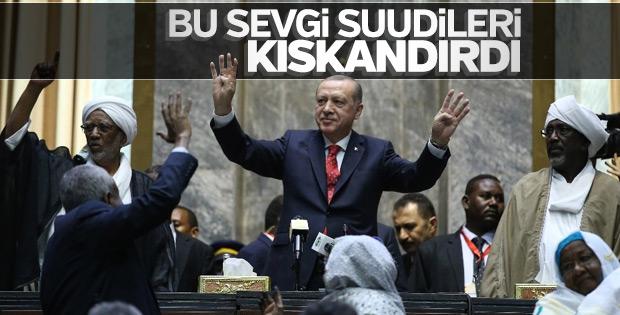 Kraliyet medyası Erdoğan'ın Sudan ziyaretinden rahatsız