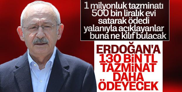 Kılıçdaroğlu Başkan Erdoğan'a tazminat ödeyecek
