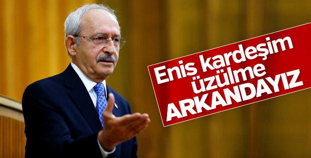 Kılıçdaroğlu'ndan Berberoğlu'na hapis kararına tepki