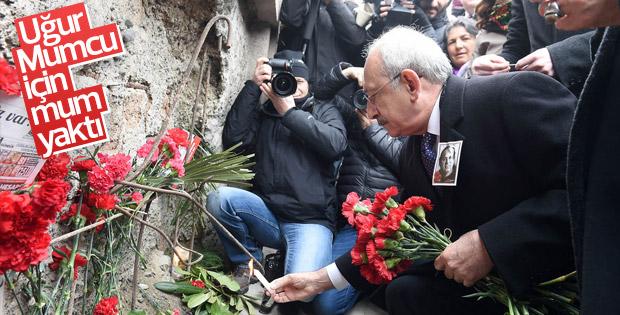 Kemal Kılıçdaroğlu Uğur Mumcu'yu andı