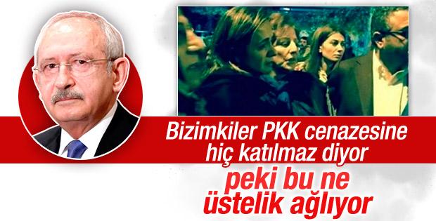 Kılıçdaroğlu: Tanrıkulu terörist cenazesine hiç katılmadı