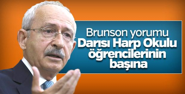 Kılıçdaroğlu'ndan Brunson yorumu