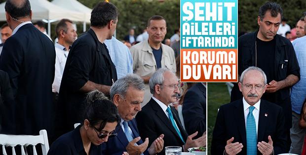Kılıçdaroğlu'nun iftar yemeğinde koruma bolluğu