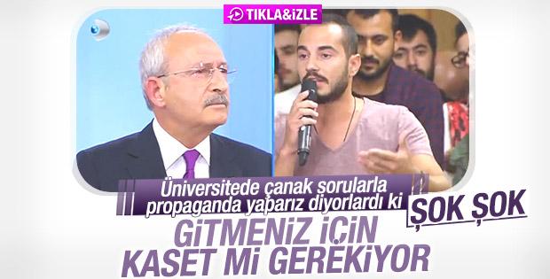 Kılıçdaroğlu: Bize dinsiz diyorlar