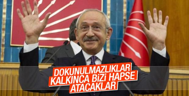 Kılıçdaroğlu dokunulmazlık kararını açıkladı