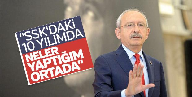 Kılıçdaroğlu, SSK dönemini anlattı