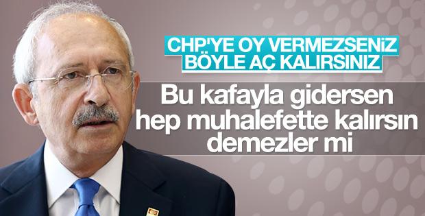 Kılıçdaroğlu kendisine oy vermeyen seçmene kızdı