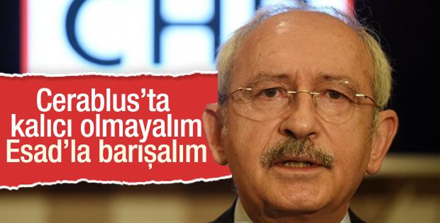 Kılıçdaroğlu'ndan Cerablus yorumu