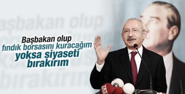 Kılıçdaroğlu Karadenizlilerden 4 yıllık yetki istedi
