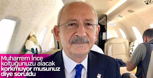 Kılıçdaroğlu'na soruldu: Muharrem İnce'yle sorun var mı