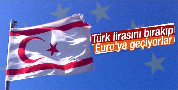 KKTC Euro'ya geçecek