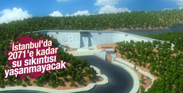 İstanbul'da 2071'e kadar su sıkıntısı yaşanmayacak