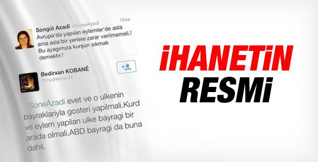 Kobani eylemcilerinin ikiyüzlülüğü deşifre oldu