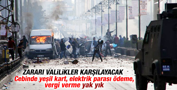 Kobani olaylarının faturası devletin kasasına kesildi