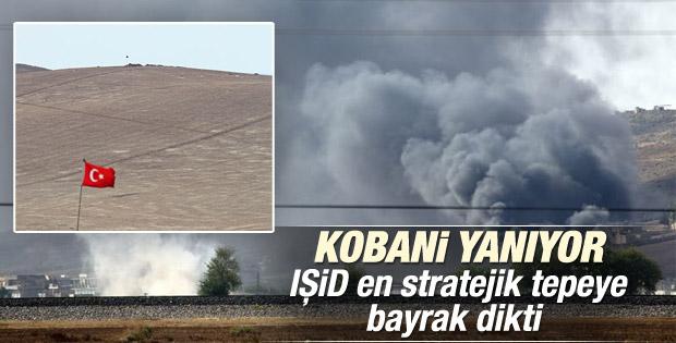 IŞİD Zorava'ya bayrak dikti Kobani'ye ulaştı İZLE
