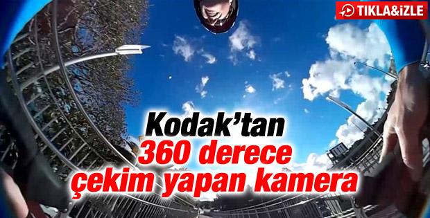 Kodak'tan 360 derece çekim yapan kamera - İzle