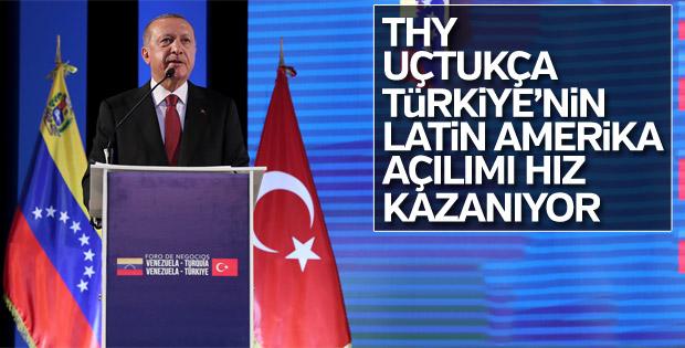 Başkan Erdoğan: THY uçuyor, Türkiye kazanıyor