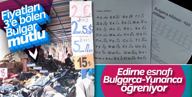 Edirne esnafına Yunanca ve Bulgarca kursu
