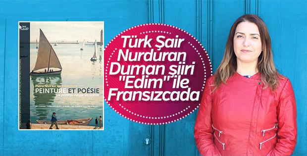 Türk Kadın Şair Nurduran Duman şiiriyle Fransızcada
