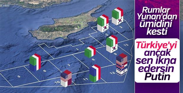Rum Kesimi Rusya'nın Kıbrıs sorununu çözmesini istiyor