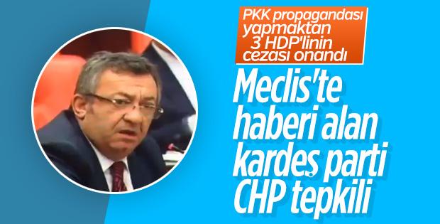 CHP'nin cezası onanan HDP'lilere üzüntüsü