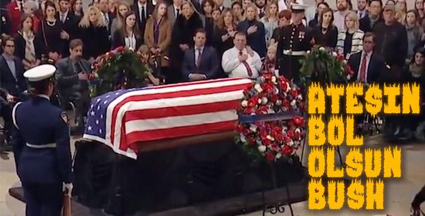 ABD eski başkanı Bush'un köpeği yas tuttu