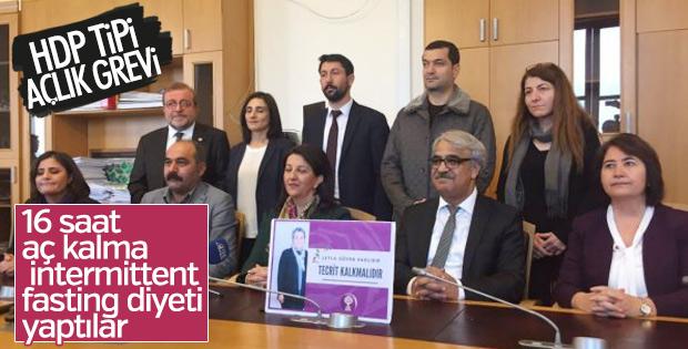 HDP'li 10 vekil Öcalan için diyet yaptı