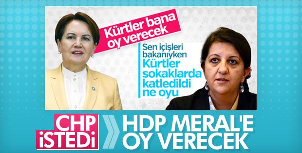 HDP, İYİ Parti ile CHP ittifakını destekleyecek