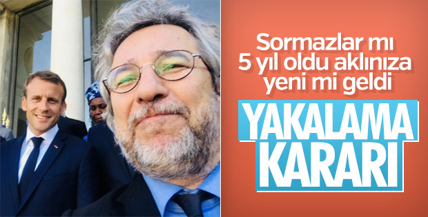 Gezi Parkı davasında Can Dündar'a yakalama kararı