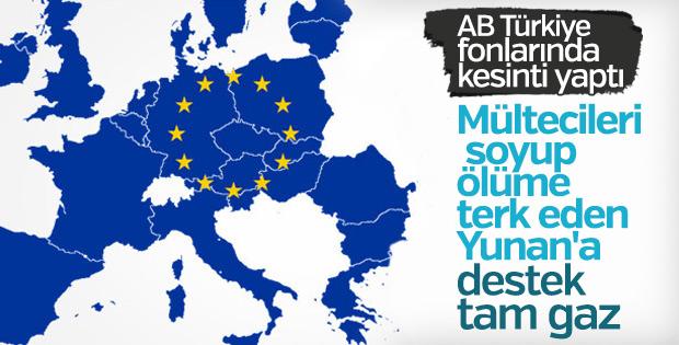 AB'den Türkiye'ye bütçe kesintisi