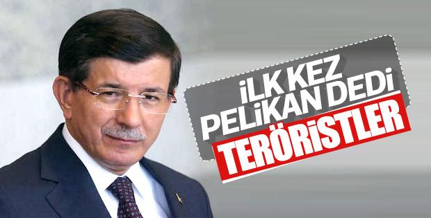 Ahmet Davutoğlu Pelikancıları hedef aldı