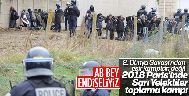 Fransa'da lise öğrencileri gözaltına alındı