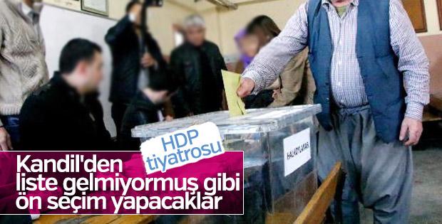 HDP'de gündem ön seçim