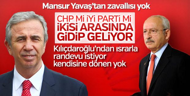 Mansur Yavaş, Kılıçdaroğlu'ndan randevu talep etti
