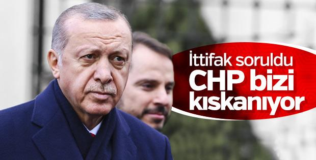 Başkan Erdoğan: Bizi kıskanan oluşumlar var