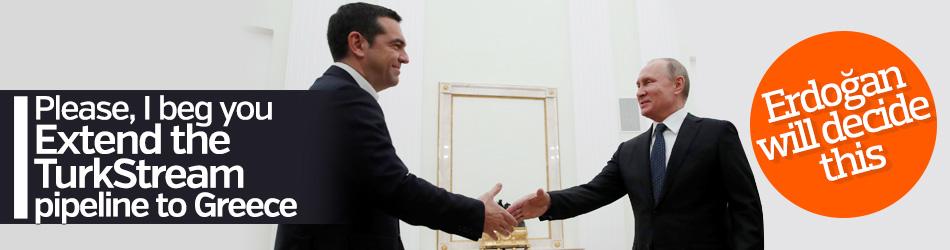 Putin answered Tsipras's TurkStream request
