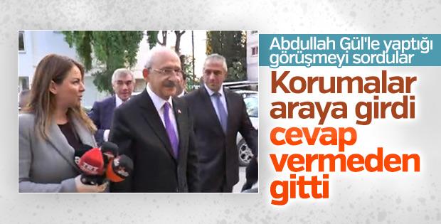 Kılıçdaroğlu, Abdullah Gül sorusuna cevap vermedi