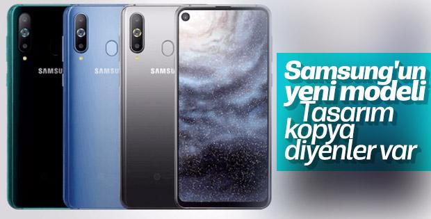 Infinity-O ekranlı Samsung Galaxy A8s tanıtıldı