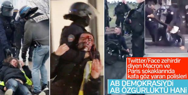 Fransa'da polis şiddeti giderek artıyor