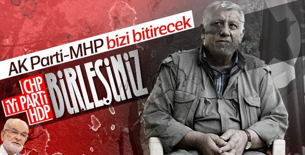 PKK'nın AK Parti ve MHP korkusu