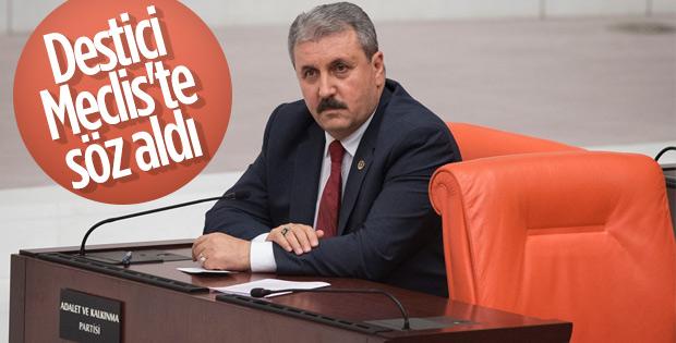 Mustafa Destici'nin sataşma itirazı