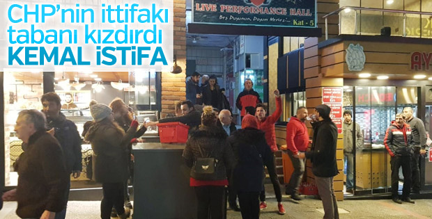 Balıkesir'de CHP tabanı ittifakı kabul etmedi