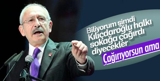 Kılıçdaroğlu işçilere sokak çağrısı yaptı