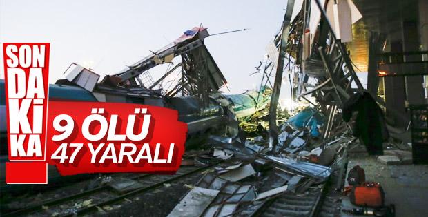 Ankara'da hızlı tren kazasında son durum