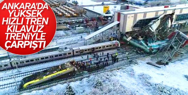 Ankara'da Yüksek Hızlı Tren kaza yaptı: 46 yaralı, 7 ölü