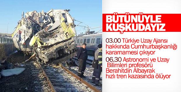 Türkiye Uzay Ajansı'nın kurulduğu gün şüpheli ölüm